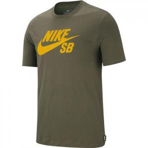 Tričko Nike SB DRY TEE DFCT LOGO medium olive/dark sulfur