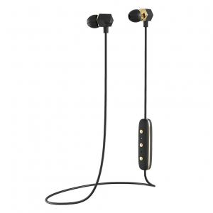Sluchátka Happy Plugs Ear Piece Wireless Black/Gold