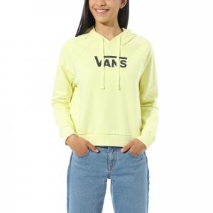 Mikina Vans FLYING V FT BOXY HOODIE YELLOW PEAR