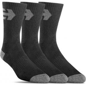 Ponožky Etnies Direct 2 Socks (3 Pack) BLACK