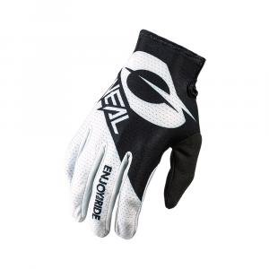 Cyklistické rukavice Oneal MATRIX Glove STACKED black/white