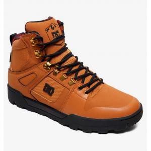 Boty DC PURE HIGH TOP WR BOOT WHEAT/BLACK