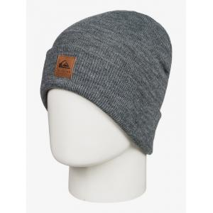 Čepice Quiksilver BRIGADE BEANIE BLACK HEATHER