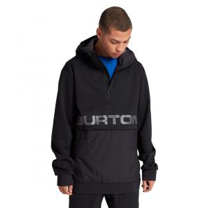 Mikina Burton Crown Bonded Performance Pullover Fleece TRUE BLACK