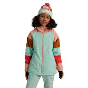 Zimní bunda Burton GIRLS HART JACKET Faded Jade/Pink Dahlia