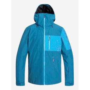 Zimní bunda Quiksilver MISSION PLUS JK LYONS BLUE