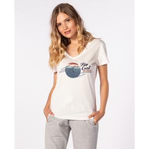 Tričko Rip Curl THE WAVE TEE  Bone