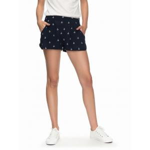 Kraťasy Roxy MIAMI BEACHY SHORT DRESS BLUES EMBY ANCHOR