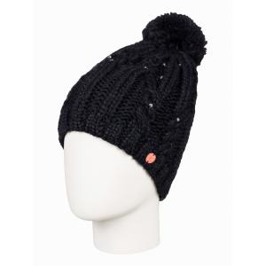 Čepice Roxy SHOOTING STAR BEANIE TRUE BLACK