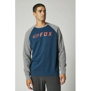 Mikina Fox Apex Crew Fleece Dark Indigo