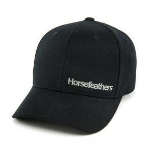 Kšiltovka Horsefeathers BECKETT CAP black