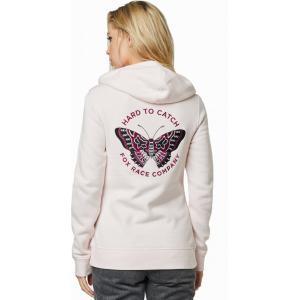 Mikina Fox Flutter Pullover Fleece Light Pink