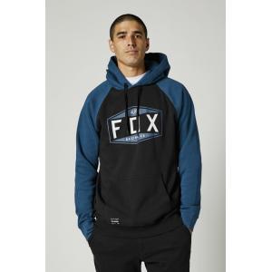 Mikina Fox Emblem Raglan Po Fleece Dark Indigo