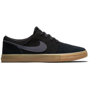 Boty Nike SB PORTMORE II SOLAR black/dark grey-gum light brown