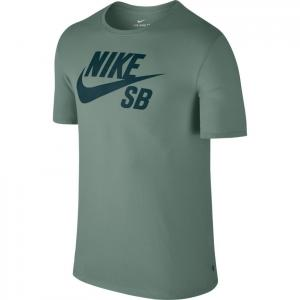 Tričko Nike SB LOGO TEE clay green/deep jungle