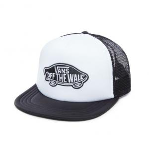 Kšiltovka Vans Classic patch trucker white/black