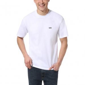Tričko Vans LEFT CHEST LOGO TEE White/Black