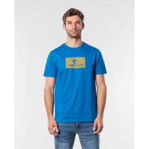 Tričko Rip Curl HALLMARK S/S TEE  Electric Blue
