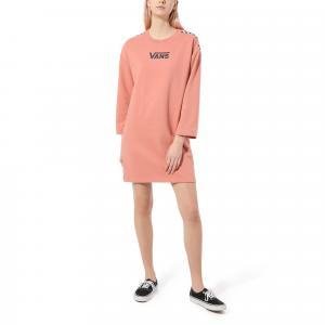 Šaty Vans CHROMO II DRESS ROSE DAWN