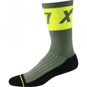 Ponožky Fox 8' Trail Cushion Sock Print Pine