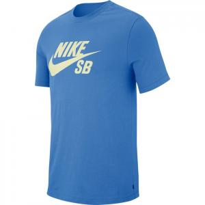 Tričko Nike SB DRY TEE DFCT LOGO pacific blue/sail