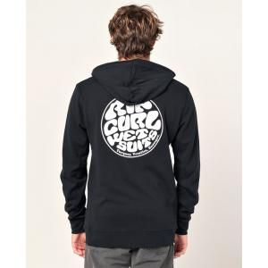 Mikina Rip Curl OS HOODED POP OVER PRINT  Black