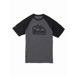 Tričko Burton MTNJACK ACTIVE GRAY HEATHER