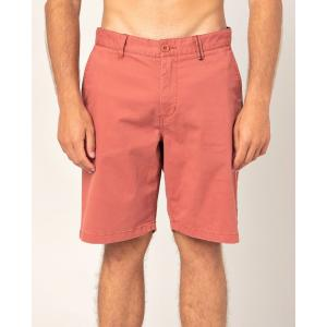 Kraťasy Rip Curl TRAVELLERS WALKSHORT  Washed Red