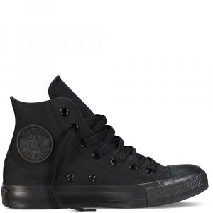 Boty Converse Chuck taylor All star high black mono