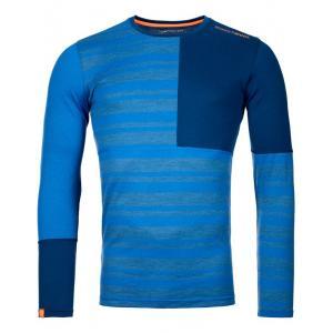 Termo tričko Ortovox 185 Rock'N'Wool Long Sleeve  Just Blue