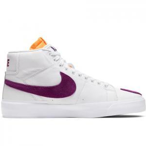 Boty Nike SB ZOOM BLAZER MID EDGE L white/viotech-white