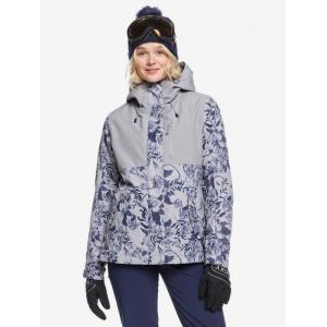 Zimní bunda Roxy JETTY 3N1 JK HEATHER GREY BOTANICAL FLOWERS