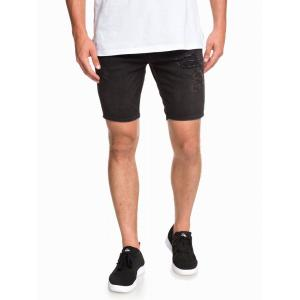 Kraťasy Quiksilver DISTORSION SHORT STRANGER BLACK