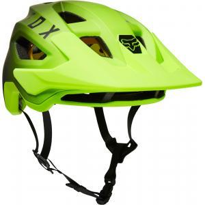 Cyklistická helma Fox Speedframe Helmet Mips Black/Yellow