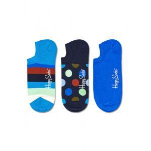 Ponožky Happy Socks 3-Pack Stripe No Show Sock