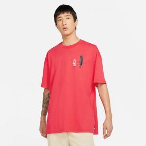 Tričko Nike SB TEE FRIENDS lt fusion red