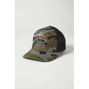 Kšiltovka Fox Youth Og Camo Flexfit Hat Green Camo