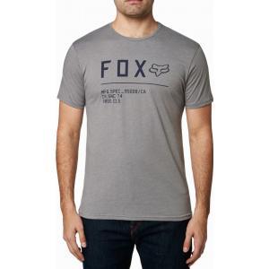 Tričko Fox Non Stop Ss Premium Tee Heather Graphite