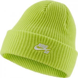 Čepice Nike SB BEANIE FISHERMAN CYBER/WHITE