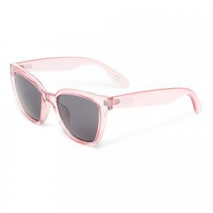Sluneční brýle Vans HIP CAT SUNGLASSES TRNSLCNTFCHSIAPNK/SMKELNS