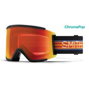 Lyžařské brýle Smith SQUAD XL                  LOUIF PARADISE-ChromaPop Everyday Red Mirror
