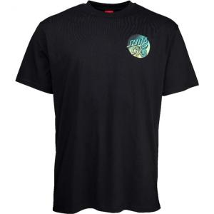 Tričko Santa Cruz Dope Planet Fade Black