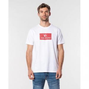 Tričko Rip Curl HALLMARK S/S TEE  White