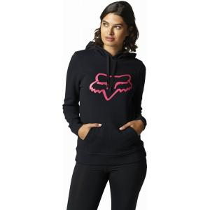 Mikina Fox Boundary Pullover Fleece Black/Pink