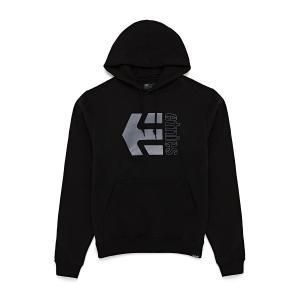 Mikina Etnies Corp Combo Hoodie BLACK/GREY