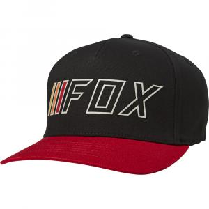Kšiltovka Fox Brake Check Flexfit Hat Black/Red
