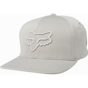 Kšiltovka Fox Lithotype Flexfit Hat Grey/Light Grey