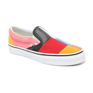 Boty Vans Classic Slip-On PATCHWORK MULTI/TRUE WHITE
