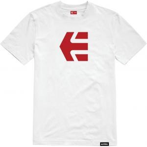 Tričko Etnies Icon Tee WHITE