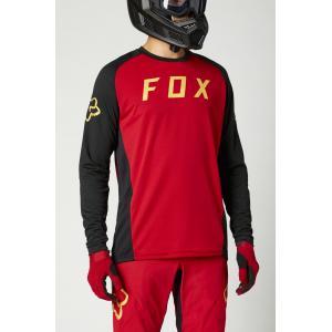 Pánský cyklodres Fox Defend Ls Jersey Chilli